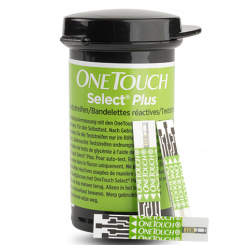 ONE TOUCH SELECT PLUS BANDELETTES - 100 Bandelettes