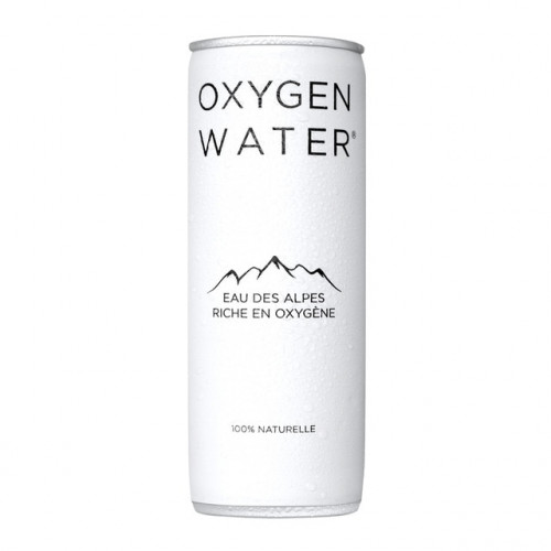 OXYGEN WATER CANETTE 250ML