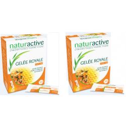 NATURACTIVE Geléé Royale Fluide Lot De 2X20 Sticks
