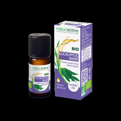NATURACTIVE HUILE ESSENTIELLE Eucalyptus Radié BIO - 10ml