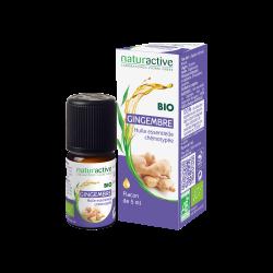 NATURACTIVE HUILE ESSENTIELLE Gingembre BIO - 5 ml