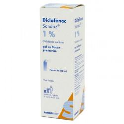 DICLOFENAC ARROW 1 %, gel en flacon pressurisé, boîte de 1