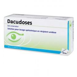 DACUDOSES Solution ophtalmique boîte de 16 récipients unidoses