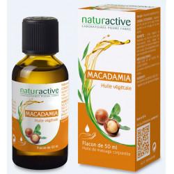 NATURACTIVE HUILE VEGETALE Macadamia BIO - 50ml