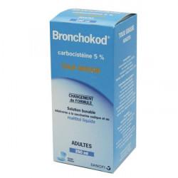 BRONCHOKOD ADULTES 5 % Solution buvable édulcorée 250 ml