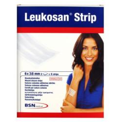 Leukosan Strip Ster 6x 38mm Blanc 2x 6 7262806