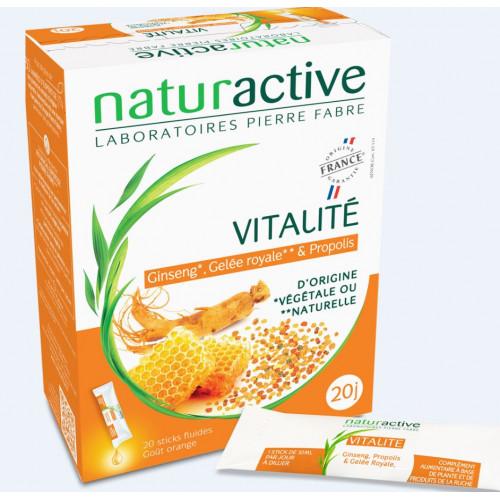NATURACTIVE FLUIDE Vitalité - 20 Sticks
