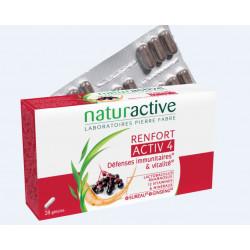 NATURACTIVE ACTIV 4 Renfort Défenses Immunitaires - 28 Gélules
