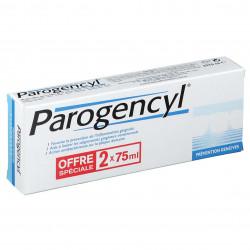 PAROGENCYL PRÉVENTION GENCIVES DENTIFRICE LOT de 2 - 75 ml