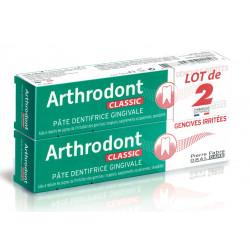 ARTHRODONT CLASSIC DENTIFRICE Pâte - Lot de 2 X 75 ml