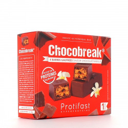 PROTIFAST CHOCOBREAK BARRE CHOCO VANIL X4