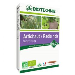 BIOTECHNIE ARTICHAUT - RADIS NOIR -20 Ampoules