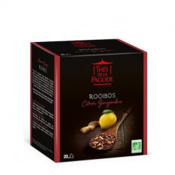 THE PAGODE ROOIBOS CITRON-GINGEMBRE - 20 Sachets