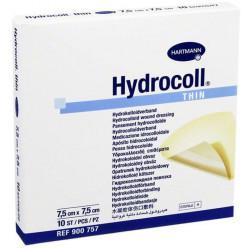 HYDROCOLL Pansements Hydrocolloides 7,5X7,5CM X10.