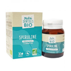 NUTRI'SENTIEL SPIRULINE BIO CPR 30