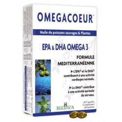 HOLISTICA OMEGACOEUR EPA & DHA OMEGA 3 - 60 Capsules