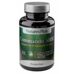 NATURES PLUS Commando 3000 - 60 Comprimés