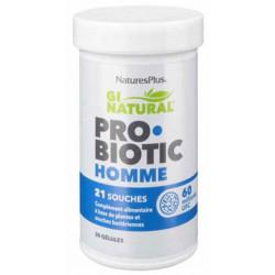 NATURES PLUS Probiotic Homme - 30 Gélules