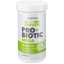 NATURES PLUS Probiotic Mega - 30 Gélules