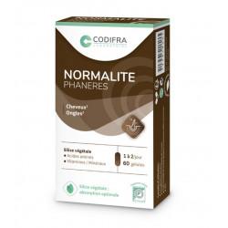 CODIFRA NORMALITE PHANERES - 60 Gélules