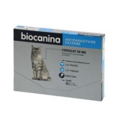 BIOCANINA FIPROCAT - 3 Pipettes