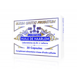 HUILE DE HAARLEM - 30 Capsules