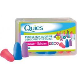 QUIES Protection Auditive Mousse Disco - 3 Paires