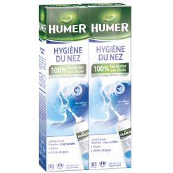 HUMER HYGIENE DU NEZ Solution Nasale Lot de 2x150ml