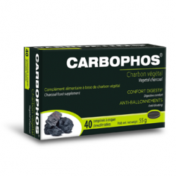CARBOPHOS CHARBON VEGETAL - 40 Comprimés