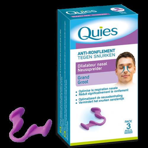 QUIES ANTI RONFLEMENT Dilatateur Nasal Taille L