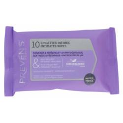 PREVENS INTIME Pocket - 10 Lingettes