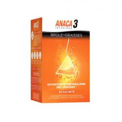 Anaca3 Brûle-Graisses - 24 Sachets