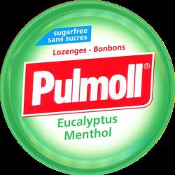 PULMOLL PASTILLE Verte Eucalyptus Menthe - 45g