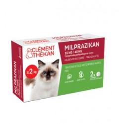 CLEMENT THEKAN MILPRAZIKAN Chat - 2 Comprimés