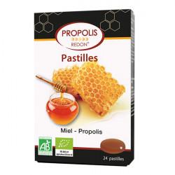 REDON PROPOLIS Pastilles Miel Bio - 24 Pastilles