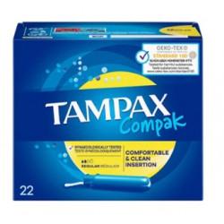 TAMPAX Compak Regular - 22 Tampons